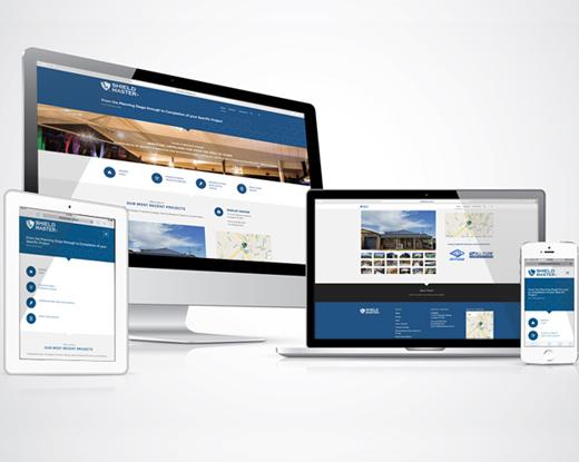 Shield Master - Responsive Website