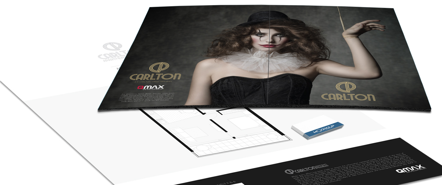 Corporate Identity - Sales Presenter - Business Cards - Photoshop Manipulation